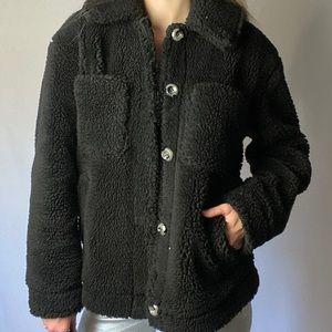 Topshop Teddy Coat